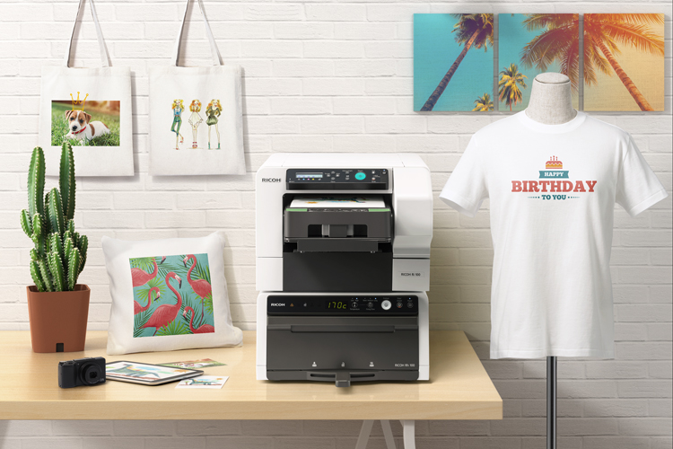 Ricoh simplifica la impresión textil con las impresoras Ri 1000 y Ri 100