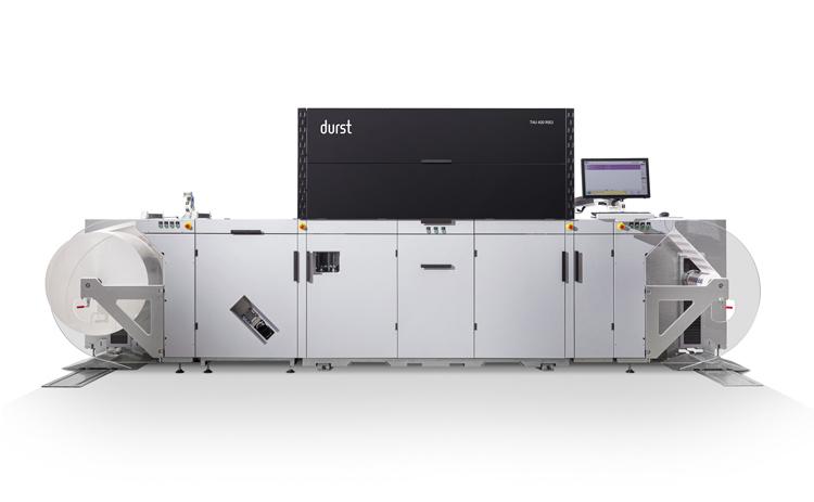 Software específico, tintas de baja migración y una nueva solución para la producción digital de etiquetas, las primicias de Durst en LabelExpo 2019