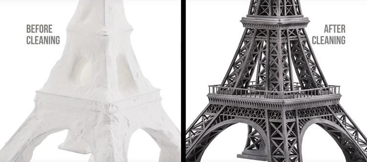 Tocar para creerlo, Weerg eleva los estándares de la calidad 3D