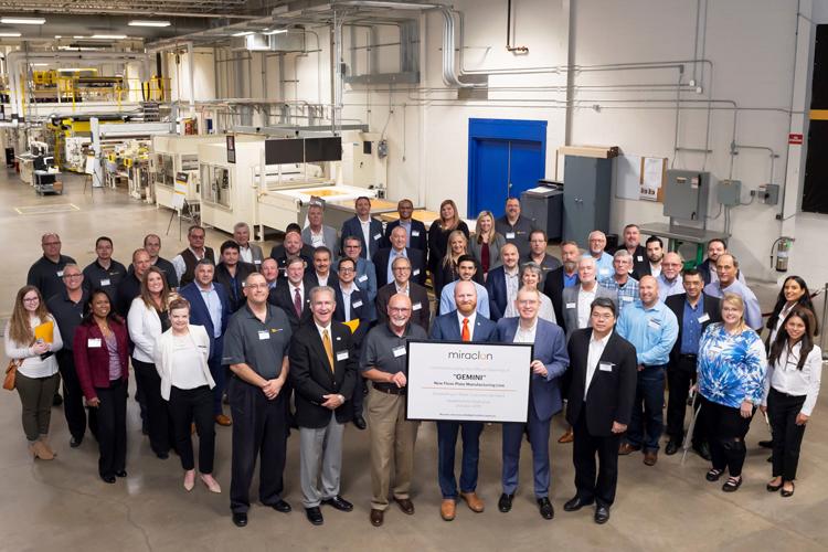 Miraclon inaugura una segunda línea de fabricación de planchas flexográficas